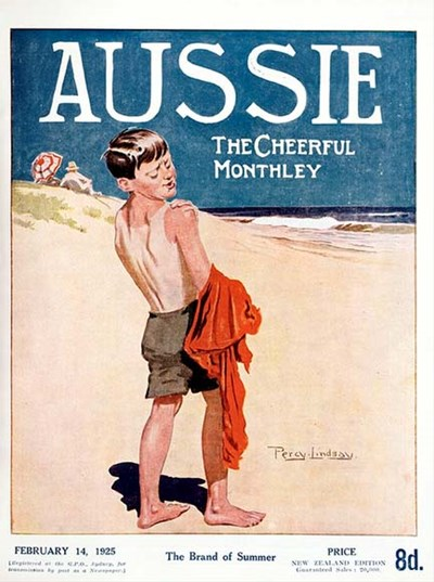 Aussie the Cheerful Monthly (Aussie, 1920 series) #72 (14 February 1925)