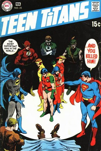 Teen Titans (DC, 1966 series) #25 (January-February 1970)