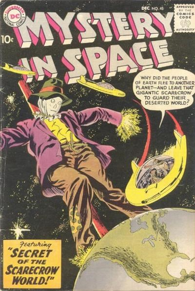 Mystery in Space (DC, 1951 series) #48 (December 1958)
