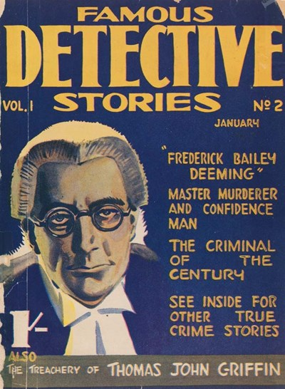 Famous Detective Stories (Frank Johnson, 1946 series) v1#2 (January 1947)