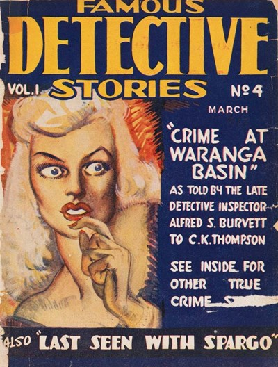 Famous Detective Stories (Frank Johnson, 1946 series) v1#4 (March 1947)