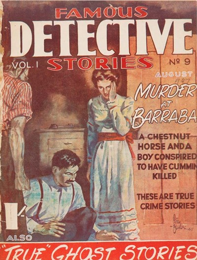 Famous Detective Stories (Frank Johnson, 1946 series) v1#9 (August 1947)