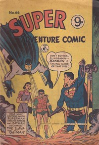 "Super Adventure Comic (Colour Comics, 1950 series) #66 — The Super-""Batman"""