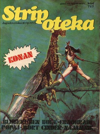 Stripoteka (Marketprint, 1973 series) #717  (1987)