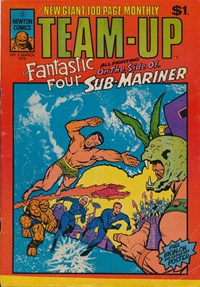 Team-Up (Newton, 1976 series) #3 (March 1976) —Marvel Team-Up