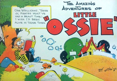 "The Amazing Adventures of Little ""Ossie"" (Frank Johnson, 1950?)  ([1943])"