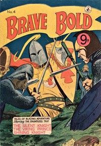 The Brave and the Bold (Colour Comics, 1956 series) #4 — Untitled