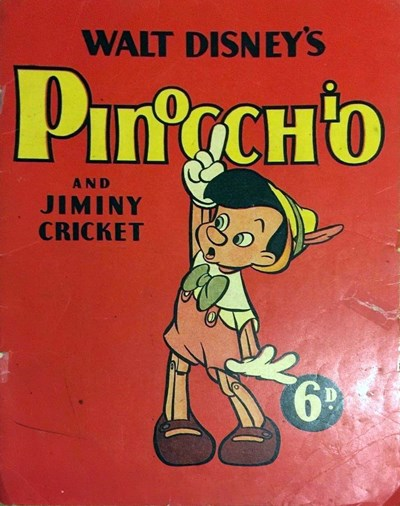 Walt Disney's Pinocchio and Jiminy Cricket (John Sands, 1939?)  ([1939?])