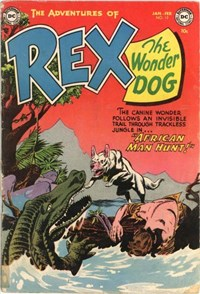 The Adventures of Rex the Wonder Dog (DC, 1952 series) #13 — African Man Hunt!