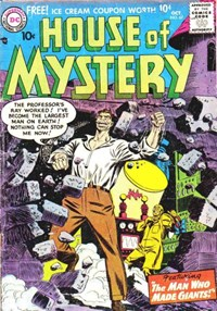 House of Mystery (DC, 1951 series) #67 — The Man Who Made Giants!