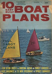 10 Easy Built Boat Plans (KG Murray, 1960? series) #12 ([December 1966])