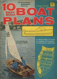 10 Easy Built Boat Plans (KG Murray, 1960? series) #11 ([1966?])