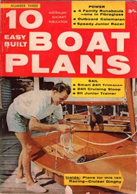 10 Easy Built Boat Plans (KG Murray, 1960? series) #3 ([1962?])