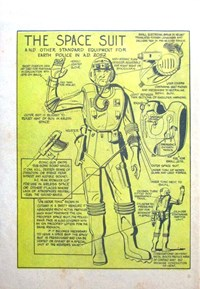 Little Trimmer Comic (Approved, 1950 series) #12 — The Space Suit (page 1)