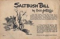 Saltbush Bill Cartoon Fun on the Farm (Sungravure, 1947 series) #10 — Saltbush Bill (page 1)