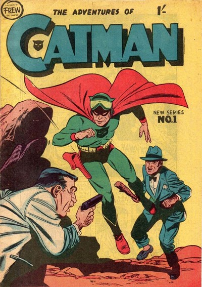 The Adventures of Catman (Frew, 1957 series) #1 ([1957?])