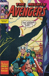 The Mighty Avengers (Federal, 1985 series) #4