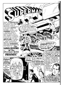 Giant Superman Album (Murray, 1978? series) #40 — The Super-Revenge of the Phantom Zone Prisoner (page 1)
