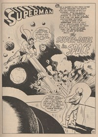 Giant Superman Album (KG Murray, 1973? series) #23 — The Super-Duel in Space (page 1)