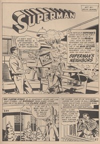 Giant Superman Album (KG Murray, 1973? series) #23 — Superman's Neighbors (page 1)