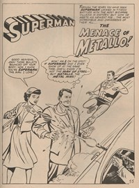 Giant Superman Album (KG Murray, 1973? series) #23 — The Menace of Metallo (page 1)
