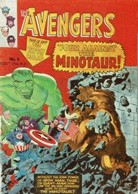 The Avengers (Yaffa/Page, 1977 series) #6 — Four against the Minotaur!
