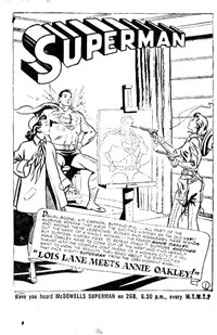 Lois Lane Meets Annie Oakley!, Page 1—Superman (Colour Comics, 1950 series) #54  ([November 1951])