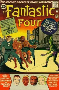 Fantastic Four (Marvel, 1961 series) #11 — The Impossible Man