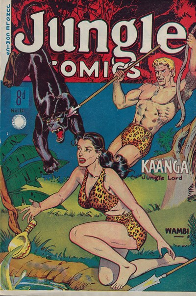 Jungle Comics (HJ Edwards, 1950? series) #11 ([August 1951?])