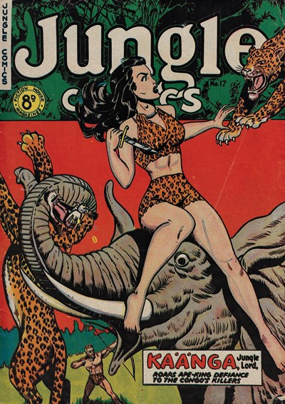 Jungle Comics (HJ Edwards, 1950? series) #17 ([1952?])