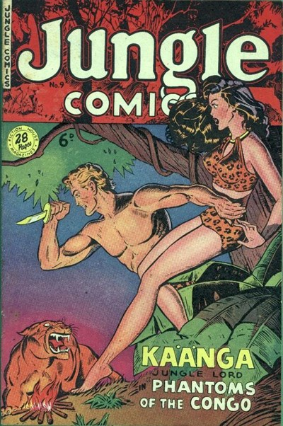Jungle Comics (HJ Edwards, 1950? series) #9 ([1951?])