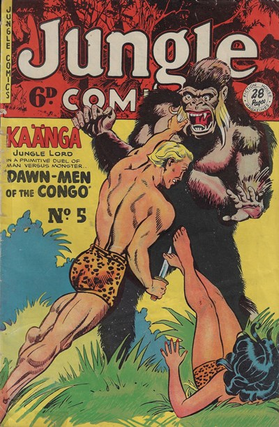Jungle Comics (HJ Edwards, 1950? series) #5 ([February 1951?])