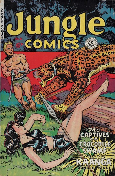 Jungle Comics (HJ Edwards, 1950? series) #8 ([May 1951?])