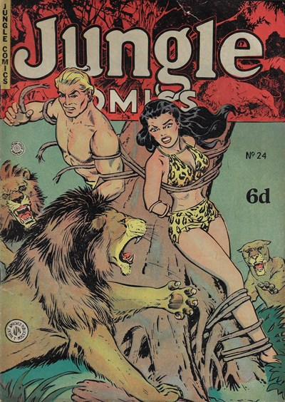 Jungle Comics (HJ Edwards, 1950? series) #24 ([September 1952?])