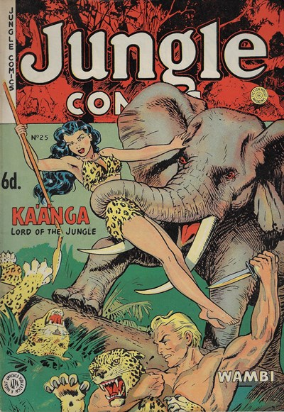 Jungle Comics (HJ Edwards, 1950? series) #25 ([October 1952?])