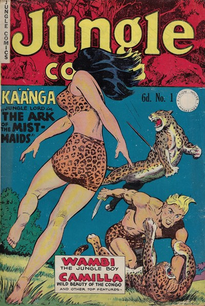 Jungle Comics (HJ Edwards, 1950? series) #1 ([October 1950?])