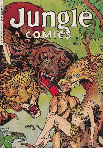 Jungle Comics (HJ Edwards, 1950? series) #40 ([1954?])