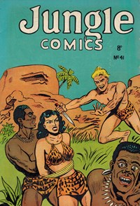 Jungle Comics (HJ Edwards, 1950? series) #41 — Untitled