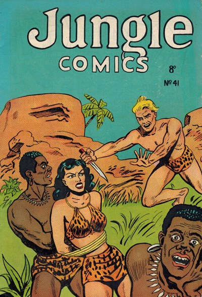 Jungle Comics (HJ Edwards, 1950? series) #41 ([1954?])