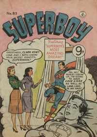 Superboy (Colour Comics, 1950 series) #83