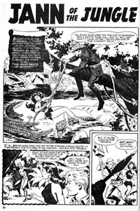 The Drum Beats at Midnight!, Page 1—Savage Tales Annual (KG Murray, 1978? series) #16 ([1978?])