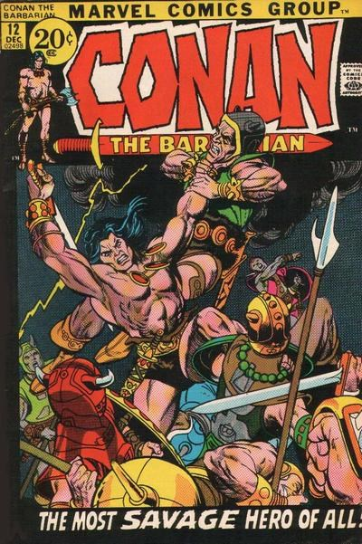 Conan the Barbarian (Marvel, 1970 series) #12 (December 1971)