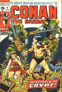 Conan the Barbarian (Marvel, 1970 series) #8 (August 1971)