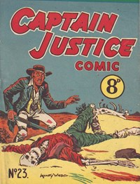 Captain Justice (New Century, 1950 series) #23 ([October 1952]) —Captain Justice Comic