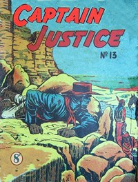 Captain Justice (New Century, 1950 series) #13 ([December 1951?])