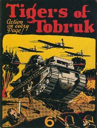 Tigers of Tobruk (NSW Bookstall, 1942?)