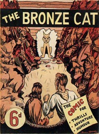 The Bronze Cat (NSW Bookstall, 1943?)  — No title recorded