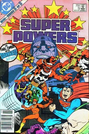 Super Powers (DC, 1984 series) #5 (November 1984)