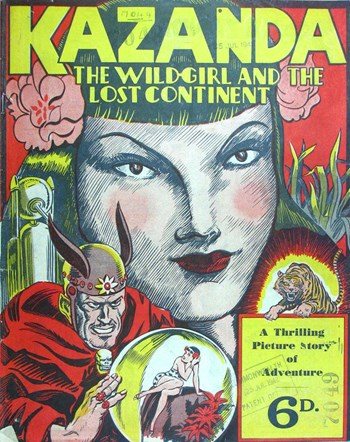 Kazanda the Wild-Girl and the Lost Continent