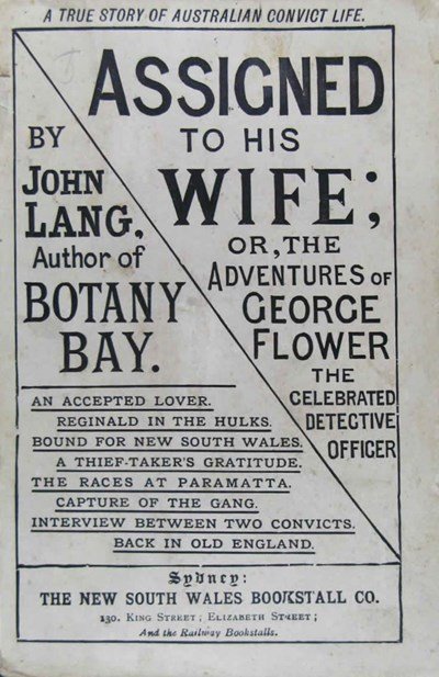 Assigned to his Wife or, The Adventures of George Flower, the Celebrated Detective Officer (NSW Bookstall, 2017?)  ([1888])